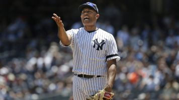 Mariano Rivera is going for different saves now