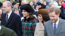 Prince Harry and Prince William had a 'bit of a fallout' over Meghan Markle