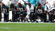 Jaguars, Ravens kneel for anthem in 1st game since Trump ramps up feud