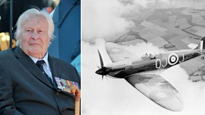 Youngest Battle of Britain spitfire pilot dies