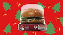 If you didn't think Christmas-flavoured sandwiches were enough, try a snow globe shaped one