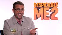 Steve Carell Interviewed by Mini Reporter About What Makes Him Despicable