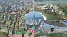 【有片】13分鐘北韓天空 360度高空睇平壤