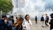 """""""Tränengas-Eis"""" soll an die Proteste in Hong Kong erinnern"""