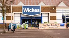 Wickes boss warns of inflation as sales surge at building merchant