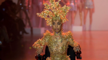 Model with muscular dystrophy dedicates New York Fashion Week debut to 'every single person who has a disability'