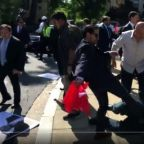 Video May Show The Order That Sent Erdogan's Guards To Beat Up U.S. Protesters
