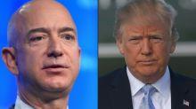 Amazon acusa a Trump de presionar para que no lograra contrato con el Pentágono