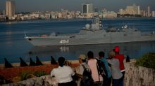 What's an advanced Russian warship doing in Havana harbor?