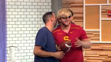 Blind USC football player on helping lead his team to victory: 'It was emotional'