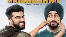 Mubarakan new poster: Arjun Kapoor enthralls all as the naughty Karan and clueless Charan