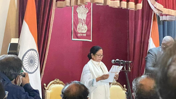 Mamata Banerjee Takes Oath as Bengal CM for Third Consecutive Term