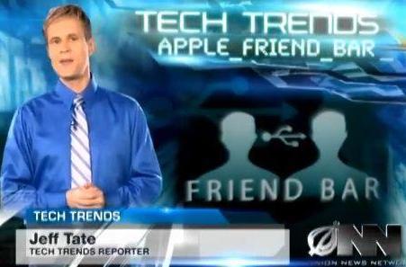 The Onion: Apple announces Friend Bar
