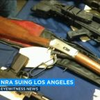 NRA sues Los Angeles over law requiring contractors to disclose ties