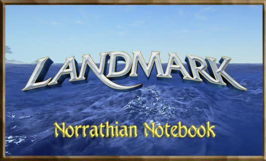 Norrathian Notebook:  Jump in, the water's fine in Landmark!