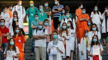 Sanitarios con especialidad en huelga en Madrid por su situación laboral