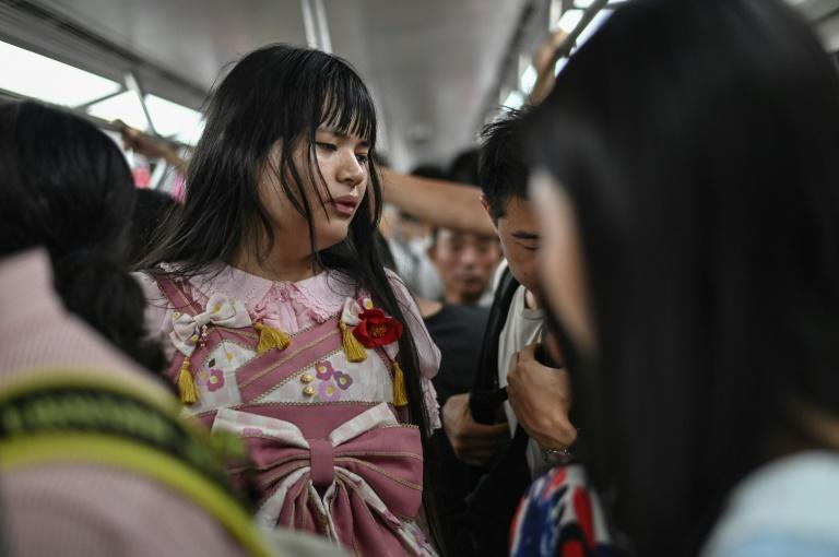 In China, people are unable to have gender-reassignment surgery without the legal consent of their families, and many are reluctant to discuss the issue with their family -- for fear of being ostracised or disowned (AFP Photo/HECTOR RETAMAL)