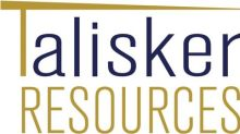 Talisker Announces Private Placement Financing of $4.1 Million, Closes First Tranche of $3.5 Million