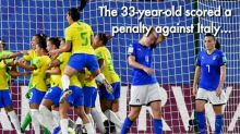 Marta for the win: Brazil star breaks football World Cup record