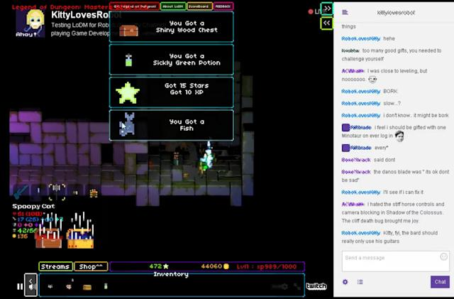 Play god live on Twitch in 'Legend of Dungeon: Masters'