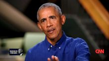 Obama calls out GOP establishment for being 'cowed into accepting' Trump's election lies