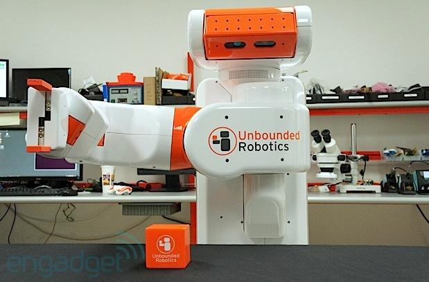 Unbounded Robotics introduces UBR-1, a one-armed semi-autonomous robot for $35K