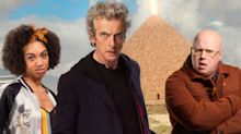 Doctor Who visits the Pyramids in these new photos