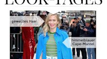 Look des Tages: Emily Blunt im Mustermix