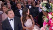 Leonardo DiCaprio and His Girlfriend Camila Morrone Are Sitting Together at the Oscars