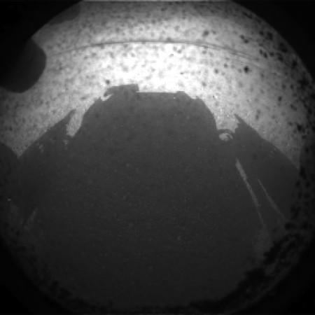 El Curiosity aterriza en Marte y envía las primeras imágenes