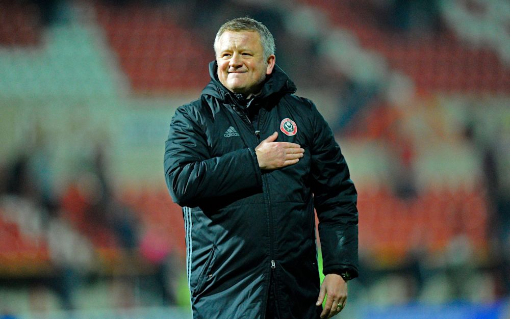 Chris Wilder is on the verge of masterminding a glorious promotion - Rex Features