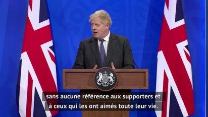 Foot - Super Ligue : Boris Johnson va tout faire pour que le projet échoue
