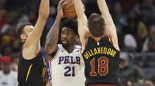 Embiid injured in 76ers shock loss to Cavs