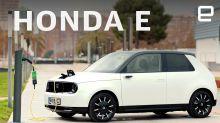 Honda E electric car first drive