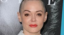 Rose McGowan's Twitter account suspended for 'violating the rules' following Harvey Weinstein scandal