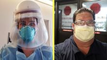 'This is a war': 2 nurses on opposite coasts battle the coronavirus pandemic