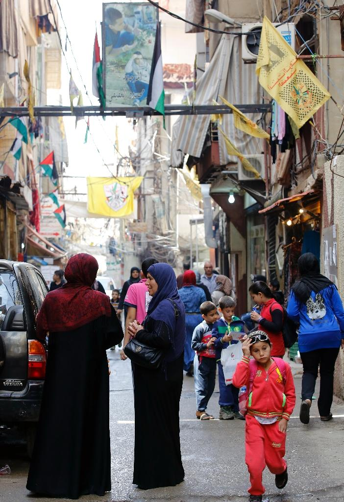 With more than 1.1 million Syrians and 450,000 Palestinians registered as refugees in Lebanon, the tiny Mediterranean country is home to the world's highest refugee-to-resident ratio (AFP Photo/Anwar Amro)