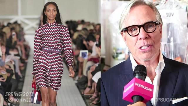 Tommy Hilfiger's Spring '13 is All About the Preppy Jetsetter