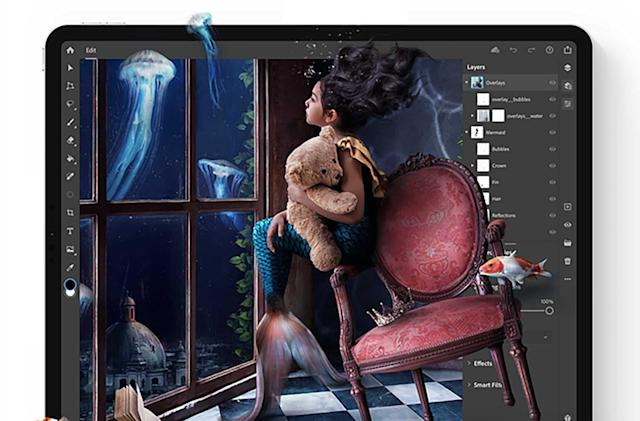 Photoshop on the iPad is now available
