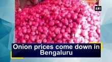 Onion prices come down in Bengaluru