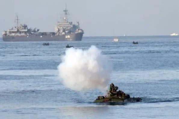 一傅眾咻的國軍 如何因應台海緊張情勢?