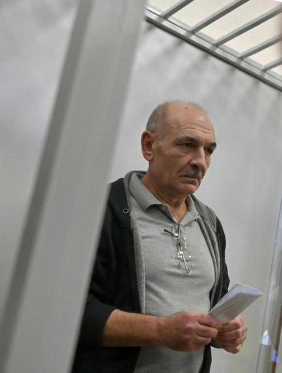 Ukrainian security services chief Ivan Bakanov said Russia had 'demanded' Tsemakh's transfer