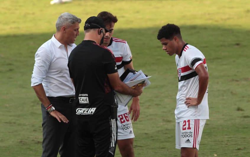 Crespo comenta sobre empate com o Mirassol: 'Merecemos ganhar'