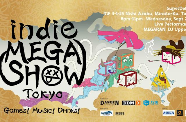The Indie Megashow gaming and music festival is headed to Tokyo
