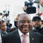 S.African parliament re-elects Ramaphosa as president