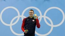 American gold medal swimmer announced Olympic intent in letter to parents when he was 8