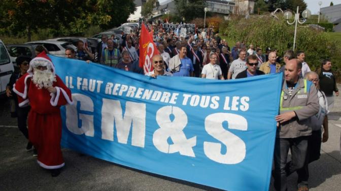 """Les représentants de GM&S """"déçus"""" après avoir été reçus à l'Elysée"""