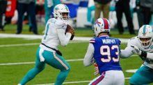 The category that Tua Tagovailoa led all NFL quarterbacks. And ESPN's Darnold/Tua debate