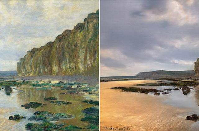 'Reverse Prisma' AI turns Monet paintings into photos
