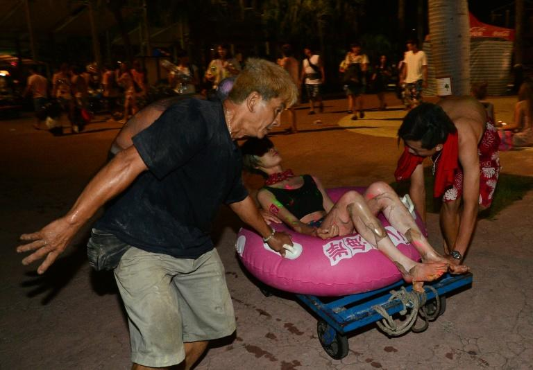 Hundreds injured in Taiwan water park blast 'hell'